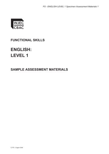 wjec english literature coursework examples