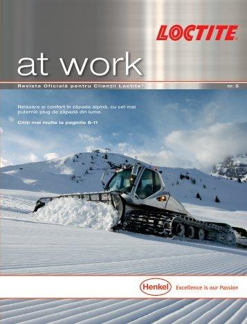 Revista oficială pentru clienţii Loctite No. 5
