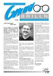 Gmaa-Brilln-Rätsel für die ganze Familie ... - Freie Wähler Bayern