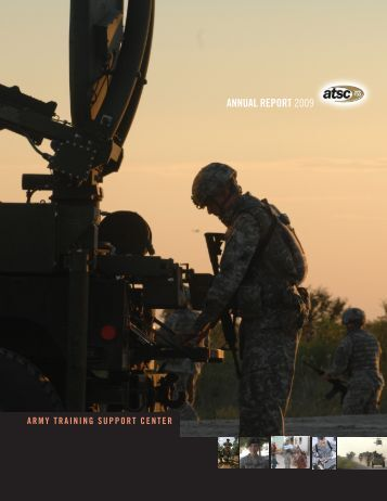 annual report 2008 annual report 2009 - U. S. Army Training ...