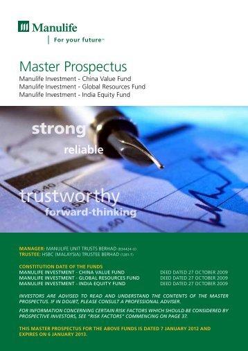 trustworthy - Manulife Insurance Berhad