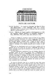 Note de lecture - Politique Africaine
