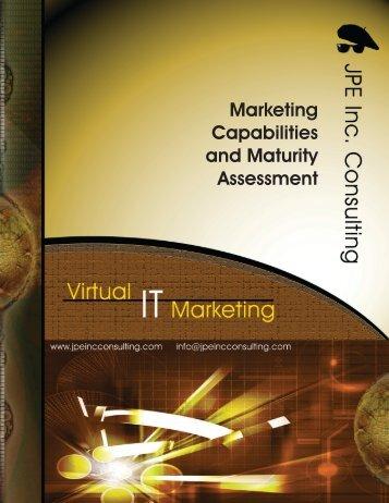 JPE Marketing Capabilities and Maturity Assessment - JPE Inc ...