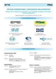 second international conference and exhibition - Ppchem.net