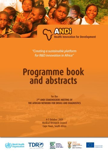 Programme book and abstracts - Meeting Tropika