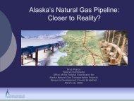 Full Presentation - Office of the Federal Coordinator, Alaska Natural ...