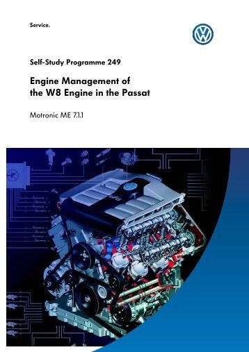 SSP 249 Engine Manag..