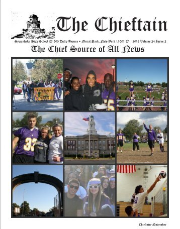 Chieftain Issue 2 - Sewanhaka Central High School District