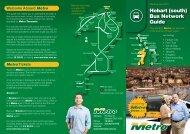 Hobart (south) Bus Network Guide - Metro Tasmania