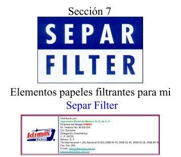 seccion 7 Separ Filter.pdf - grupoidimex.com.mx