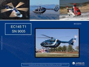 EC145 SN 9005  8-2014