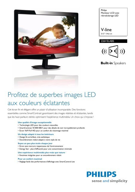 Philips 226V3LAB5/00 LCD Monitor Driver for Mac Download