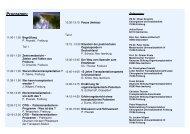 Programm 063 - Transplantationszentrum Freiburg