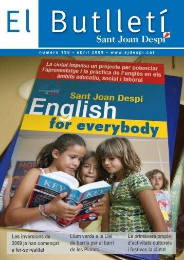 El Butlletí 198.pdf - Ajuntament de Sant Joan Despí