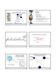 Gener i hälsa och sjukdom - CMB Education - Karolinska Institutet