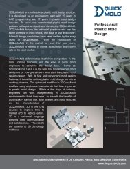 QUICK MOLD - 3D CAD/CAM Design Software