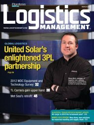Logistics Management - March 2012