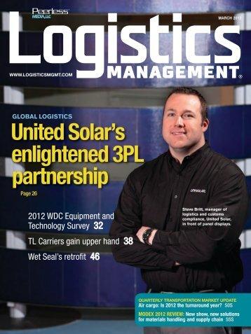 Logistics Management - March 2012
