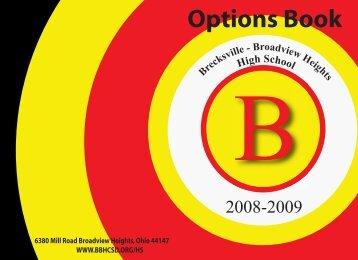 Options Book - Brecksville-Broadview Heights City Schools