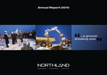 Annual Report 2010 - Northland Resources
