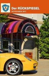 Volume 39 Issue 9, September 2012 - Maumee Valley - Porsche ...