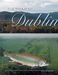 The Trout of Dublin Lake - New Hampshire Fish and Game ...