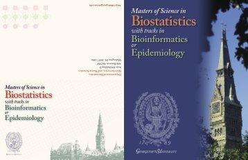Biostatistics - Georgetown University