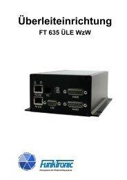 Überleiteinrichtung FT 635 ÜLE Wzw - Funktronic