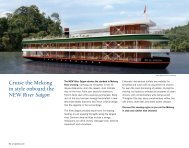 Cruise the Mekong - Uniworld River Cruises