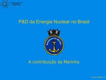 P&D da Energia Nuclear no Brasil - Nipe