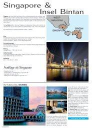 Singapore & Insel Bintan