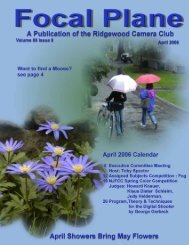 April 2006 - Ridgewood Camera Club