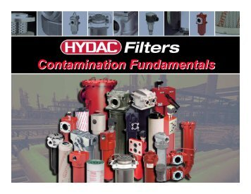 Principles of Hydraulic Filtration