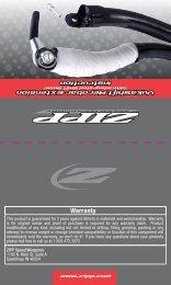 VukaShift Assembly Manual - Zipp - Speed Weaponry