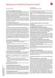 FDI/PLUSCARD Bedingungen für die ... - Förde Sparkasse