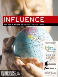 Influence 2006 - Las Vegas Sun