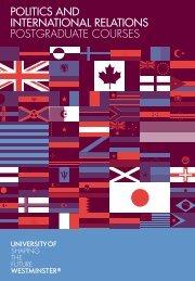 politics and international relations postgraduate courses
