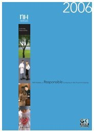 Corporate Responsibility - Logo NH Hoteles - NH Hotels