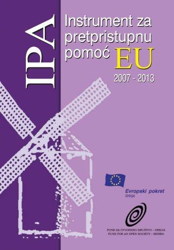 Instrument za pretpristupnu pomoć EU 2007-2013 - Evropski pokret ...
