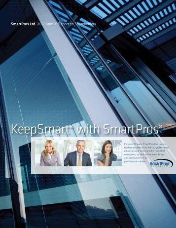 2012 Annual Report - SmartPros