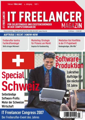 IT Freelancer Magazin Nr. 1/2007