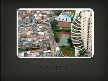 Poverty Presentation - Mater Dei High School
