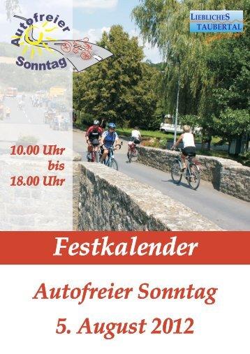 Festkalender 2012