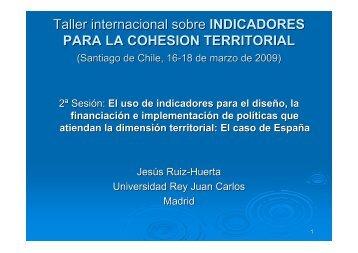 Indicadores Políticas Públicas - Jesus Ruiz Huerta - Sector Fiscalidad