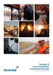 2010 Annual Report - Severstal