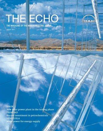 THE ECHO - Ferrostaal