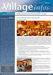 bulletin municipal - hiver 2013 - Commune d'Arâches-La Frasse