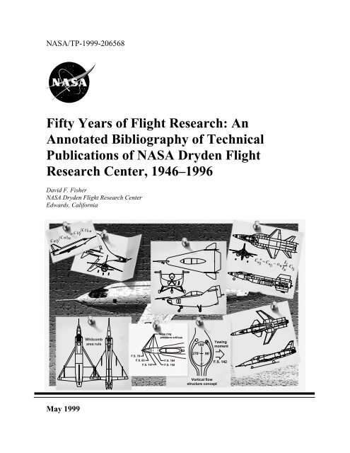Fifty Years of Flight Research: An Annotated Bibiography - NASA