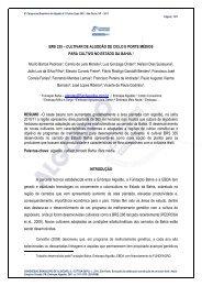 BRS 335 – CULTIVAR DE ALGODÃO DE CICLO ... - Alice - Embrapa