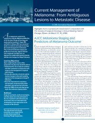 From Ambiguous Lesions to Metastatic Disease - Society of Surgical ...